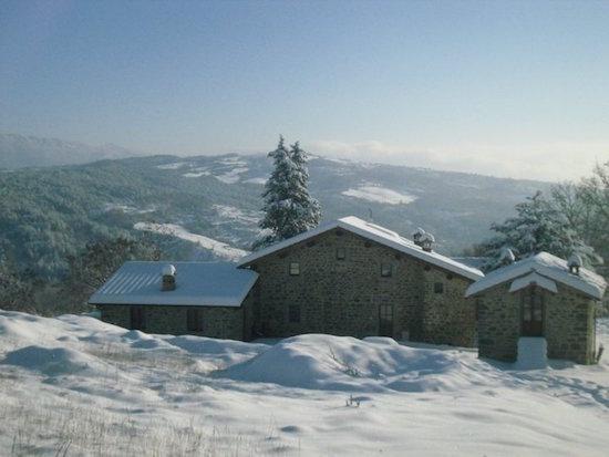 La Madera in the snow