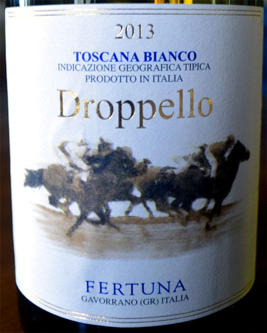 Droppello label