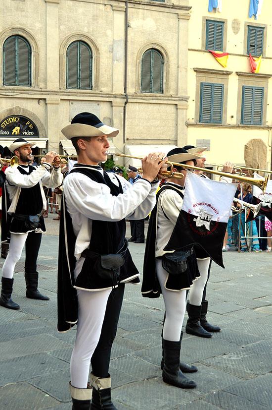Musicians from Sansepolcro.