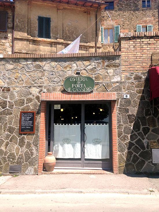 L'Osteria di Porta al Cassero