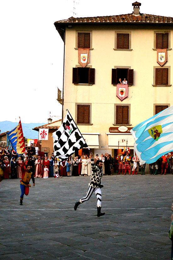 Sbandieratori from Arezzo.