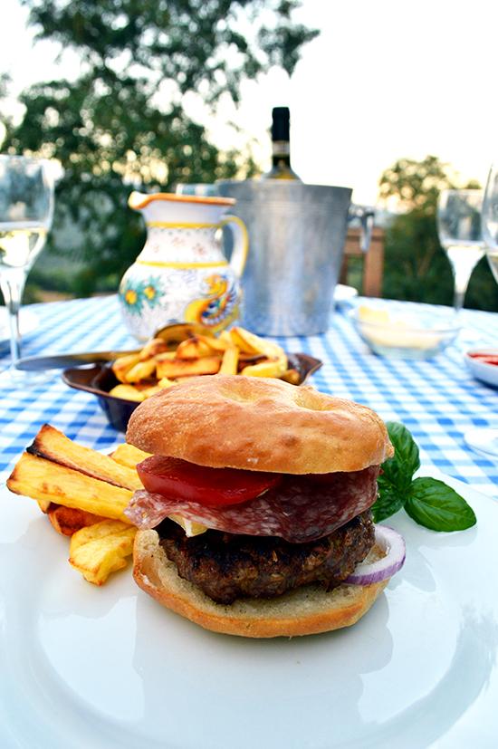 Tuscan Burger