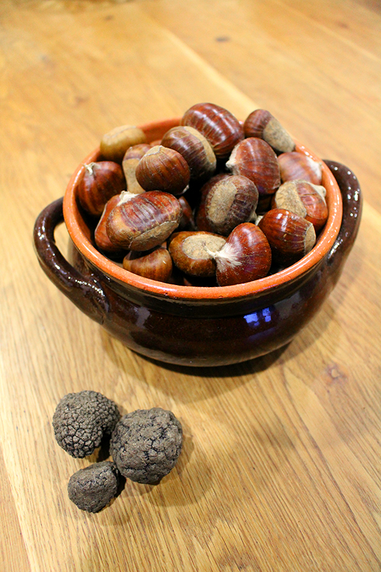 Chestnuts and Truffles