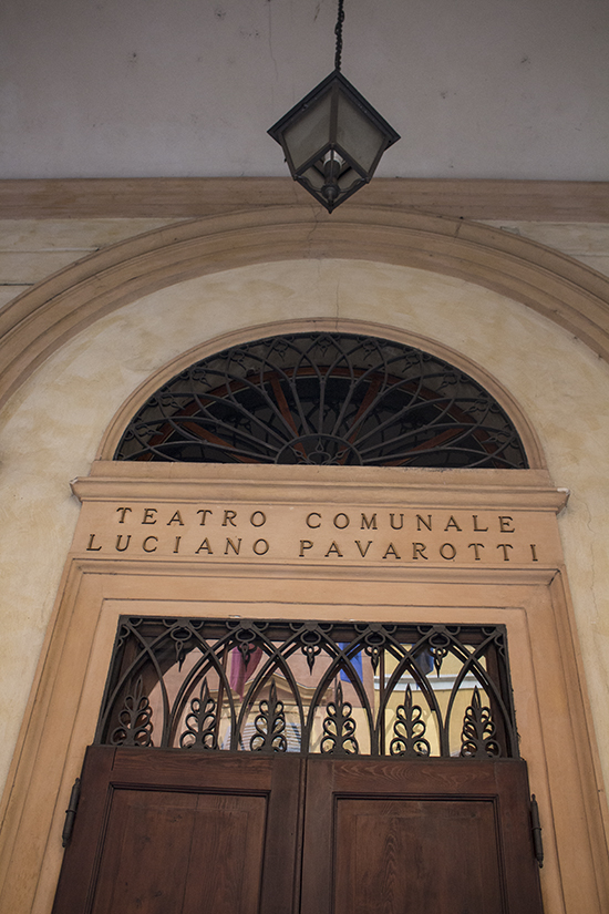 Teatro Communale Luciano Pavarotti