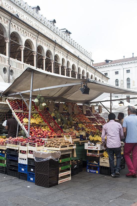 mercato piazza delle erbe padova