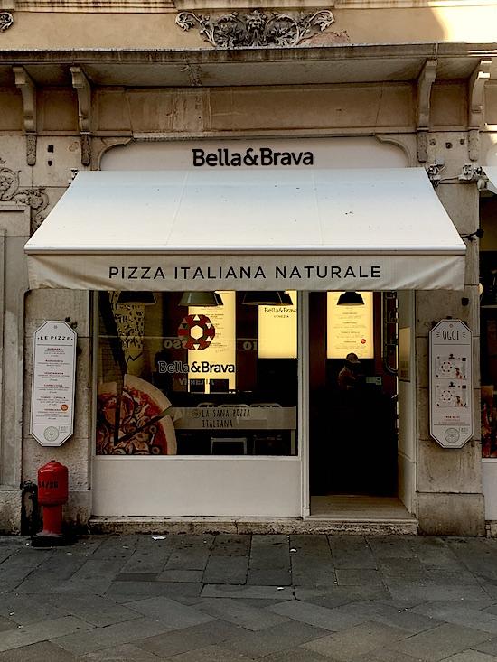Bella & Brava pizza