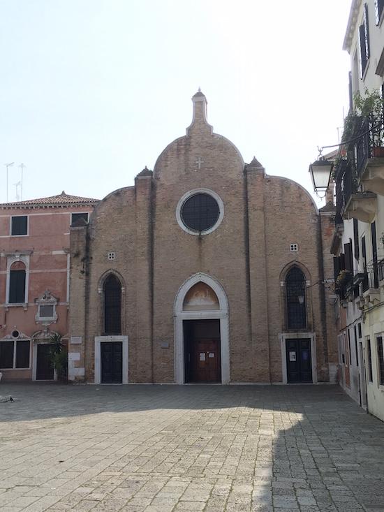 La chiesa di San Giovanni in Bragora